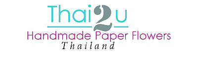 Thai2u Paper Flowers Craft Supply