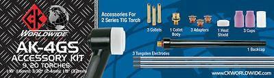 Ck Worldwide Tig Accessory Kit 2 Gas Saver