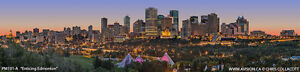 """""""Enticing Edmonton"""" Giclee Canvas by Chris Collacott 30% Off!!"""