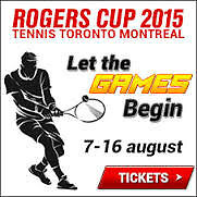 Love tennis? Travel hassle-free to Men's Tennis Rogers Cup