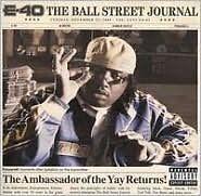 E-40 : BALL STREET JOURNAL (CD) sealed
