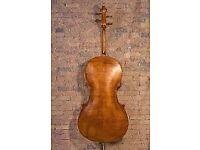 Antique cello in perfect shape