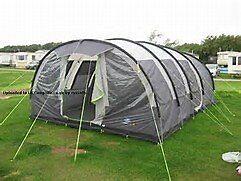 6 Man Tent - Sunncamp Platinum Family Vario 600 Plus ...