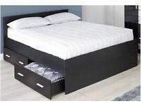 Carleton High Gloss Storage Bed