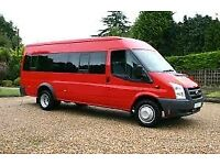 15 SEATER MINI BUS AND DRIVER AVALIBLE FOR EVENTS