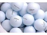 Excellent Condition nearly New Golf Balls. All the Big Names at the Lowest Prices, 30p Per Ball