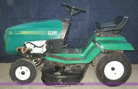 12 hp Rally lawn tractor