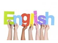 I can teach you English for a reasonable price!