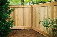 Wanted: Fence Contractor to Fence an Average Size Backyard