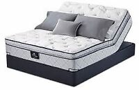 Brand new Serta adjustable bed bases only $728 Twin Xl & Queen