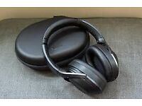 Sony MDR 1000x Bluetooth headset with noise cancelling.