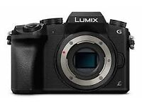 Pre-owned (In EXCELLENT Condition) Lumix G7 Camera