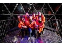 4 x Crystal Maze Tickets 15th March 3pm