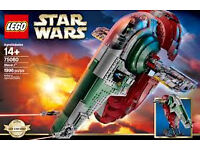 LEGO Star Wars Slave One 75060 BNIB