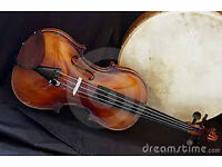 Bodhran drummer available for Irish type fiddle band in Leeds.