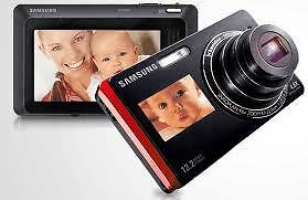 Samsung ST500 Digital Camera w/Touch Screen Dual LCDs