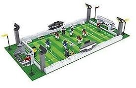 AUSINI Football Field 25690 Sport Soccer Game With Action Figures (like LEGO) Boxed 100% Complete