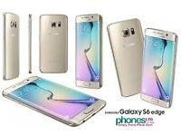 Sim Free Samsung Galaxy S6 Edge Gold 32GB With Warranty