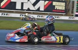 Tony Kart 401 2016 chassis raced last 2 rounds super one seeded 9th and top mini max motor used s1
