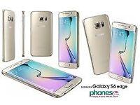 Sim Free Samsung Galaxy S6 Edge Gold 32GB
