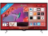 """Brand new 55""""hitachi smart tv £400,the price is negotiable,need quick sale."""