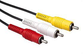 6 FT RCA Cables Yellow Red White