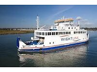Ferry to isle of wight 11 am out on 21/06/18-return 12 noon on 25/06/18 for car and trailer