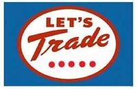 Want to TRADE? Read on!