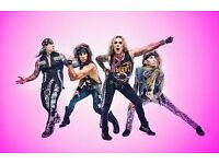 Steel Panther ticket - Wembley, Sat 15th, Seated block S3
