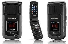 Samsung Rugby II SGH-A847m BELL/Solo/Virgin