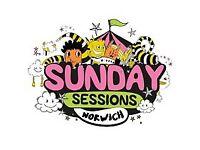 Sunday sessions tickets x 2