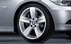 "18"" BMW OEM WHEEL & TIRE SUMMER PKG STYLE #189 STAR SPOKE E90"