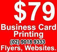 Hurstville Business Card Printing / Website -Call (02) *****9333 The Hills District Preview