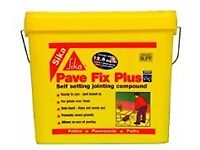 PATIO STRONG SETTING JOINTING. PALE BEIGE. PREVENTS WEEDS & ANTS. FOR WIDE JOINTS BETWEEN SLABS.