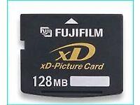 Genuine original Fujifilm xd cards