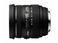 SIGMA 24-70mm f/2.8 EX DG IF HSM - Nikon Fit Lens £300