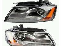 Audi s5 a5 headlights 2010