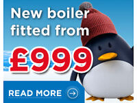 ******NEW COMBINATION GAS CENTRAL HEATING/ HOT WATER BOILER INSTALLED FROM £999******