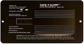 Mount Carbon Monoxide Detectors - 65-542-P-BL MTI Industry Carbon Monoxide Detector Flush Mount Detector