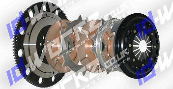 COMPETITION TWIN DISC CLUTCH & FLYWHEEL FOR NISSAN SILVIA PULSAR 240SX SR20DET