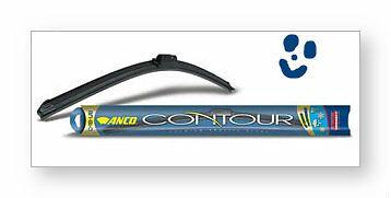 """17"""" ANCO C-17-UB Contour Wiper Blade 17 inch FRAMELESS"""