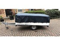 SunnCamp Trailer Tent Cover Black