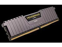 Corsair CMK32GX4M2B3000C15W Vengeance LPX 32 GB (2x16 GB) DDR4 3000 MHz C15 XMP 2.0