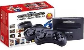 Sega Mega Drive with 80 Games included (plus additional free FIFA 96 game)