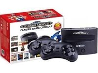 Sega Mega Drive with 80 Games included (plus additional free FIFA 96 game)