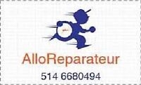 Dryer Repair Reparation Electromenager Secheuse * NOT HEATING *