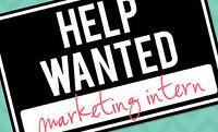 Marketing Intern- unpaid
