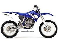 yamaha yzf 250f 2001 breaking all parts