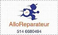 Dryer Repair Service De Reparation Secheuse *NE CHAUFFE PAS*