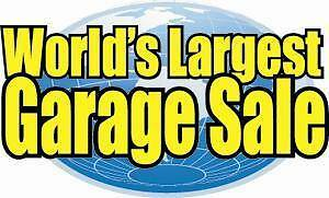World's largest Garage Sale at Exhibition Park in Halifax
